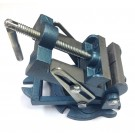 3-1/2 INCH ANGLE DRILL PRESS VISE WITH SWIVEL BASE - ONE GROOVED ONE PLAIN JAW | 3900-1735