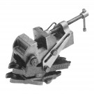 4-1/2 INCH ANGLE DRILL PRESS VISE WITH SWIVEL BASE - ONE GROOVED ONE PLAIN JAW | 3900-1737