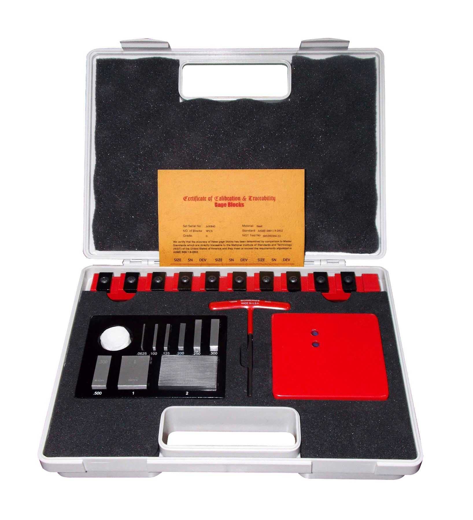 10 PIECE SETTING MASTERS MEASURING TOOLS - INCH | 4101-0036