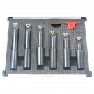 "6 PIECE 5/8"" ROUND SHANK INDEXABLE BORING BAR SET (1001-0711)"