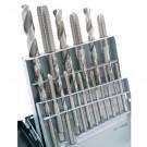 18 PIECE MM TAP & DRILL COMBO SET(M2.5-M12) | 1011-0020