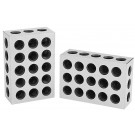 1-2-3 BLOCK SET MATCHED PAIR WITH 23 HOLES PER BLOCK (3402-0005)