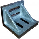 """3 X 2-1/2 X 2"""" SLOTTED ANGLE PLATE (WEBBED) (3402-0300)"""