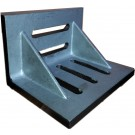 """7 X 5-1/2 X 4-1/2"""" SLOTTED ANGLE PLATE (WEBBED) (3402-0305)"""