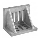 """12 X 9 X 8"""" SLOTTED ANGLE PLATE (WEBBED) (3402-0312)"""