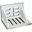 """10 X 8 X 6"""" SLOTTED ANGLE PLATE (WEBBED) (3402-0310)"""
