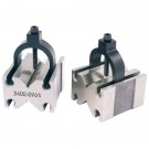 TOOLMAKER'S V-BLOCKS WITH SLOT-IN CLAMP (3402-0964) - MADE IN TAIWAN