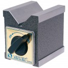 2.87 X 2.36 X 4.29 MAGNETIC V-BLOCK WITH SWITCH (3402-0997) - MADE IN TAIWAN