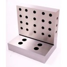 """6 X 6 X 4 X 1-1/4"""" STEEL ANGLE PLATE WITH BACK HOLES (3402-2664)"""