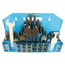 "58 PIECE CLAMPING KIT 5/8"" T-SLOT WITH 1/2-13 STUDS (3900-0001)"