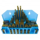 """ULTRA QUALITY 58 PIECE 7/16"""" T SLOT 3/8-16 STUD SIZE CLAMPING KIT (3901-0002)"""