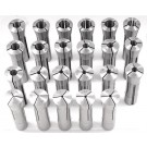 "23 PIECE R8 COLLET SET (1/16-3/4"" BY 32NDS) (3900-0009)"
