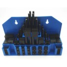 "58 PIECE 3/8"" T-SLOT CLAMPING KIT WITH 5/16-18 STUD & 3/8"" T-NUT (3900-2110)"