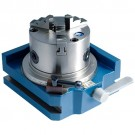 "4"" SUPER RAPID INDEXER WITH 3 JAW CHUCK (3900-2414) - MADE IN TAIWAN"