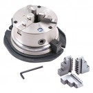 "6"" 3-JAW SELF-CENTERING ROTARY CHUCK (3900-2416) - MADE IN TAIWAN"