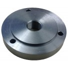 "4"" 1""-10 THREADED BACKPLATE FOR 3 JAW CHUCKS  (3900-3211)"