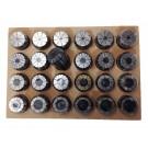 ER40 24 PIECE SPRING COLLET SET (1/8~1 INCH) | 3900-5299