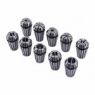 ER-25 10 PIECE 3-16MM METRIC SPRING COLLET SET (3903-5230)