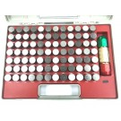 """PRO-SERIES 84 PIECE .917-1.000"""" PIN GAGE SET WITH CERTIFICATE (4101-0047)"""